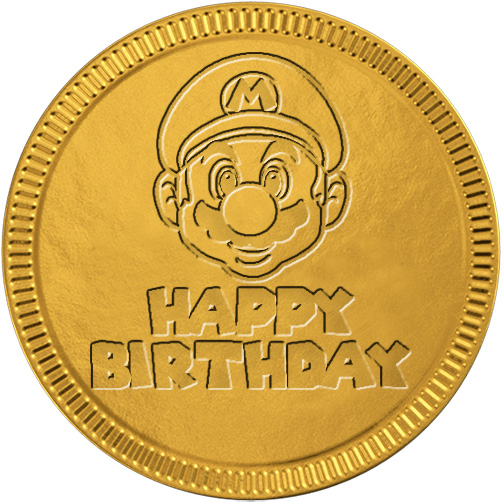 Happy Birthday from Mario